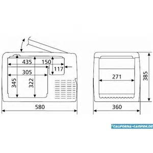Vw Awnings Waeco Coolfreeze Cf 35 Compressor Cooler And Freezer 12