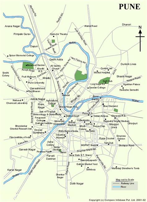 city map of pune map of pune pune tourist maps pune tourism maps pune