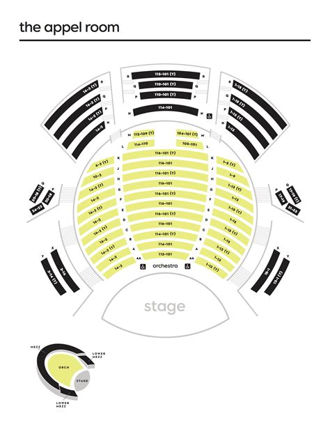 lincoln theater seating lincoln center theater seating chart images