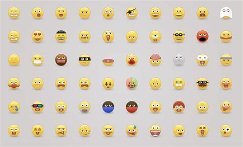 clean emoji 38 amazingly well designed emoji iconsets