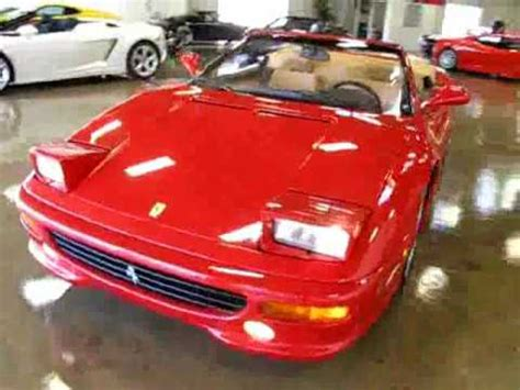 355 F1 For Sale 1999 355 F1 Fiorano Spider For Sale