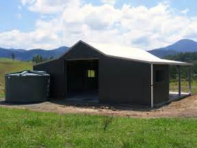 sheds and barns the aussie barn option steel sheds in australia