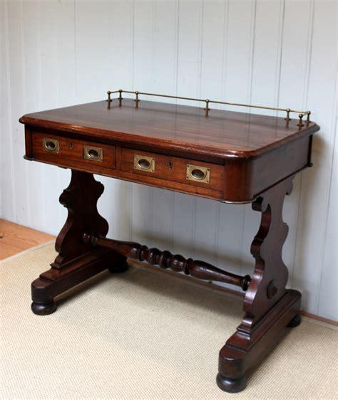 Captains Desk Antique by Mid Mahogany Ships Captains Desk Antiques Atlas