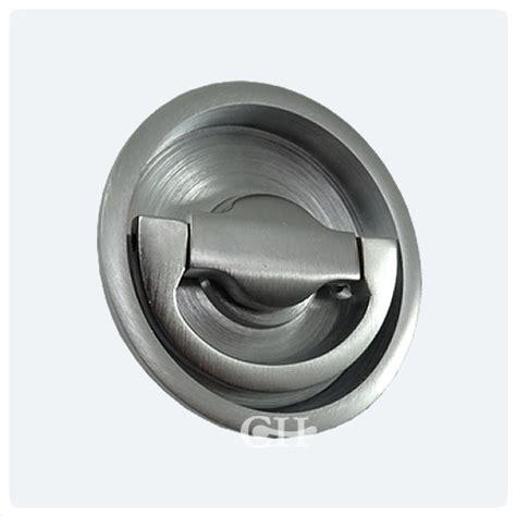Flush Door Knob 1804c flush ring handles in chrome or nickel