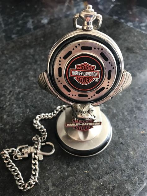 Harley Davidson Pocket Watches by Harley Davidson Quot Heritage Softtail Quot Collectors Pocket