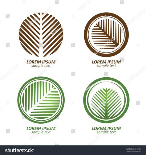 Green Circle Palm Tree Vector Logo Design Eco Concept Vector Illustration 290965325 Green Circle Tree Vector Logo Design Stock Vector 235140895