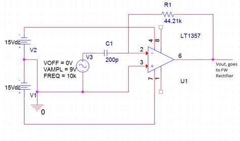 capacitor measurement circuit p15610 subsystems design