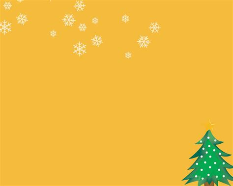 powerpoint christmas background christmas tree orange