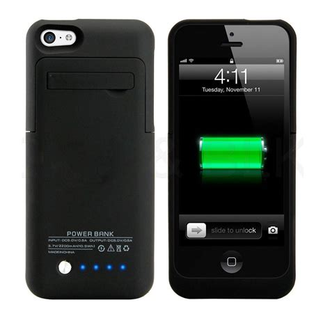 new iphone 5 5c 5s battery 174 2200mah extended protective great charger pack ebay