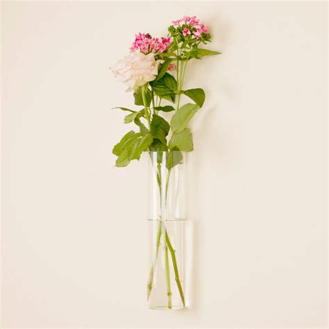 Wall Mounted Glass Vase by Wall Mounted Glass Vase By Dibor