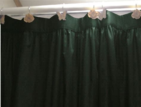 dark green shower curtain solid dark forrest green color shower curtain