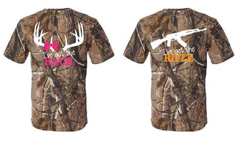 Matching Shirts For Country Couples I Ve Got The Rifle I Ve Got The Rack Couples Matching