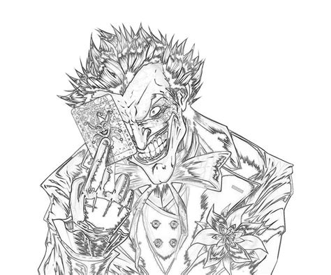 joker coloring pages free coloring pages of the joker