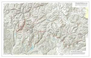 map of colorado wilderness areas weminuche wilderness map colorado s areas