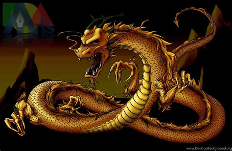 wallpaper gold dragon gold dragon 16 wide wallpapers hivewallpaper com desktop