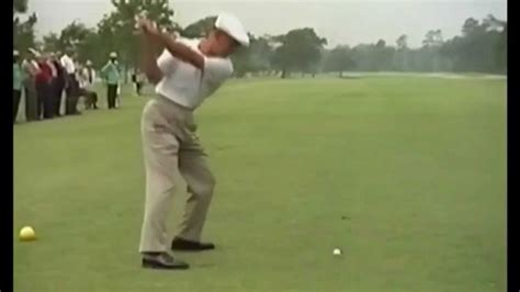 ben hogan swing youtube ben hogan 1965 shell swing compilation regular speed and