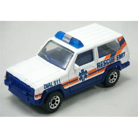matchbox jeep matchbox jeep emt rescue truck global diecast