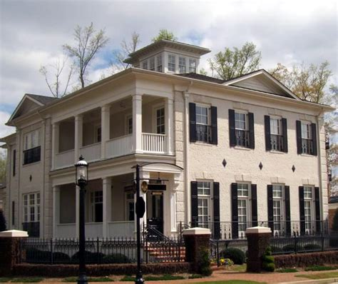 Colonial Greek Revival House Plan 72124