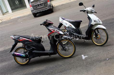 Velg Yamaha Vario vario techno 110 modifikasi velg 17 thecitycyclist
