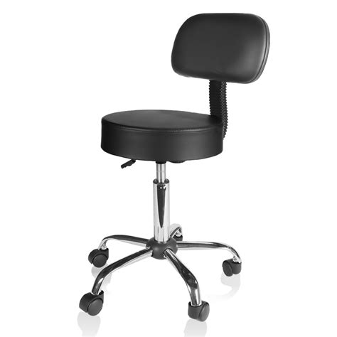 black counter drafting height office chair stool