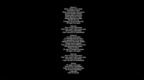 coldplay kaleidoscope lyrics full lyrics hypnotised coldplay produced by rik simpson