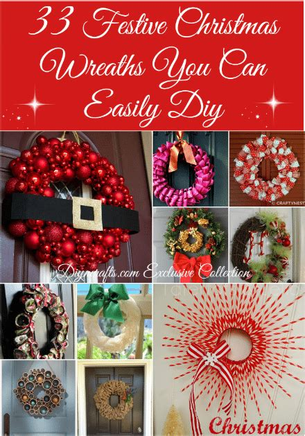 festive christmas wreaths   easily diy diy crafts
