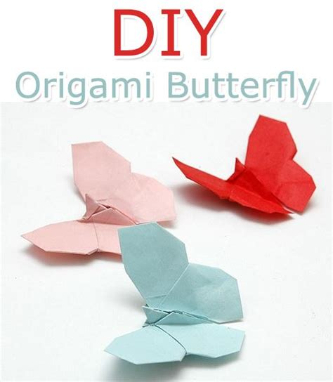 What Size Paper Do You Need For Origami - how to make an origami butterfly trusper