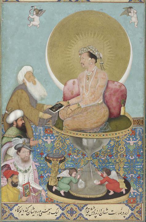 Jahangir Biography In English | file bichitr jahangir preferring a sufi sheikh to kings