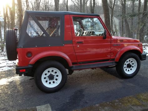 Buy Suzuki Sidekick 1994 Suzuki Samurai Garage Find No Reserve For Sale