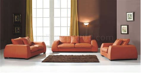 Modern Burnt Orange Living Room Sofa Burnt Orange Living Room Furniture