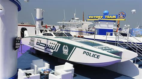 pictures of police boats police unveil new super boat at the dubai boat show the