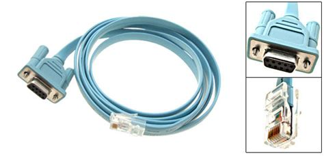Kabel Router Rj45 To Serial Db9 9 Pin Rs232 Port Cbl Db9 By Wahacc 1 simple rj45 db9 cisco console cable
