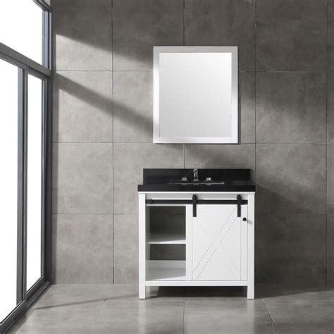 dallas bathroom vanities eviva dallas 36 in white bathroom vanity with absolute