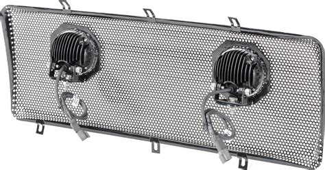 rugged ridge grille inserts jeep jk rugged ridge 12034 13 spartan dual led grille mesh insert for 07 18 jeep 174 wrangler wrangler