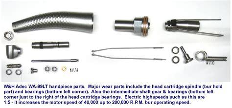 electric dental handpiece electric handpiece service pinpoint dental equipment service