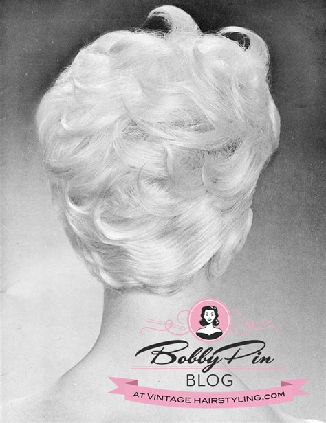 vintage hairstyles book pdf a very cool haircut for an atomic era look bobby pin