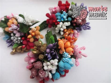 Putik Bunga Imitasi putik bunga kombinasi ptk02 montemanik pusat bahan