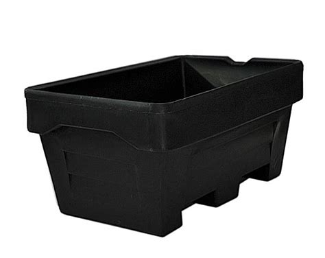 250 litre skin mortar tub black building