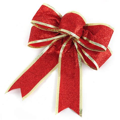holiday decor spring onions powder red bowknot christmas