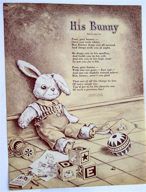 white of a loooong beautifully illustrated poems for and loooong s adventures volume 3 books poem bunnies and stuffed animals on