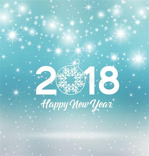 clipart buon anno buon anno 2018 illustrazione vettoriale illustrazione di