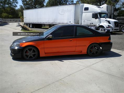 Two Door Honda Civic by 1999 Honda Civic Dx Coupe 2 Door 1 6l