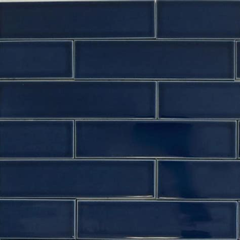 Blue Backsplash Kitchen by Design In Mind Navy Blue Tile Coats Homes Highland