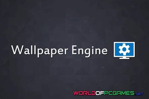 wallpaper engine download pc wallpaper engine free download