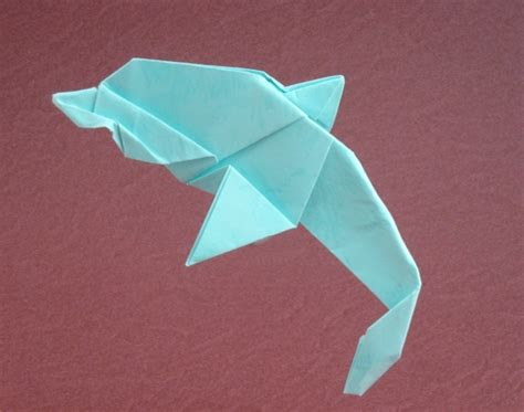 Simple But Cool Origami - dolphin kunihiko kasahara gilad s origami page