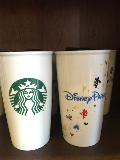Disney Startbucks Ceramic Tumbler - disney finds starbucks disney parks tumblers