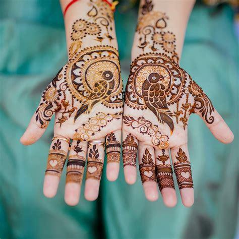 modern bridal mehndi design ideas    wedding