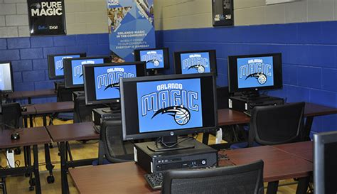 Office Supplies Orlando Magic Quill Refurbish Dr Smith Center Computer Lab