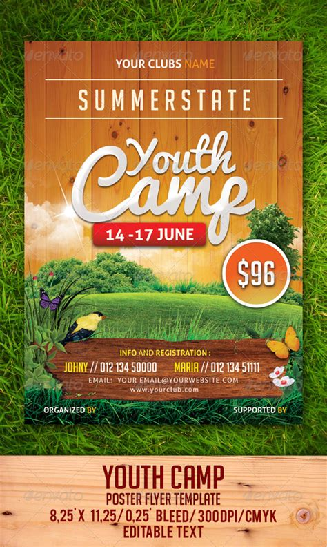 Youth C Flyer Template By Gulali Graphicriver Outdoor Flyer Template