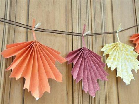 herbstblätter basteln aus papier herbstbasteln mit kindern faszinierende ideen und anleitungen